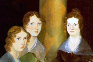 Pintura de las hermanas Brontë