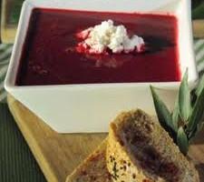 Sopa fría de betabel, recetas,betacaroteno, un antioxidante, alimentación saludable, Preparación,