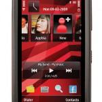 celular para escuchar música, pantalla táctil, celular Nokia 5530 , serie XpressMusic ,cámara de 3.2 megapíxeles, con enfoque automático y flash LED.