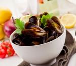 Comparte esta receta de mariscos.