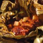 platillos para consentir atus riñones, mixiotes de pescado y verduras, ingredientes, preparación, conchitas de lechuga, filete de pescado,