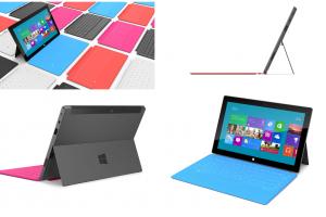 Surface nueva familia de PCs de Microsoft