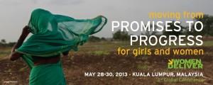 Women Deliver Tercera Conferencia 2013 en Malasia