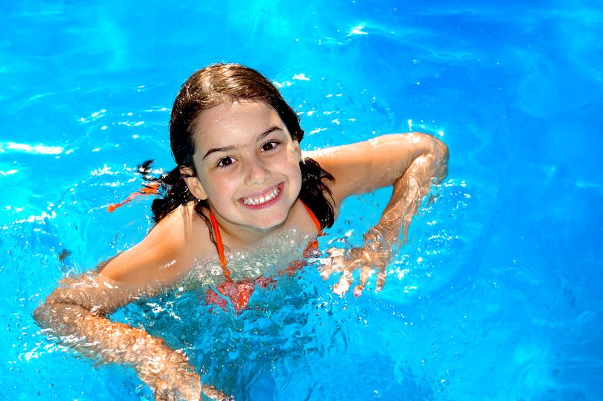 image gallery nina 39 s nadando