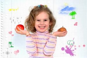 Ofrecer peras a los niños por las mañanas resulta una idea excepcional, al igual que incluirlas en el refrigerio escolar. Estaremos brindando nutrimentos esenciales, además de energía, para cubrir los momentos de mayor y más importante actividad en el día de nuestros pequeños. Imagen: Depositphotos.