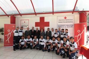 a Cruz Roja Mexicana y la compañía farmacéutica Eli Lilly México anunciaron este día la culminación de un proyecto conjunto que permitirá duplicar la capacidad del organismo de asistencia pública para recolectar y distribuir ayuda humanitaria a las poblaciones afectadas por desastres naturales.