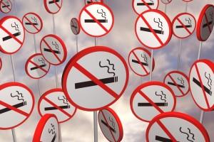 letreros de no fumar