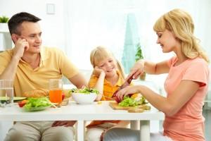 Una cena saludable hará mejoras en nuestra vida cotidiana.