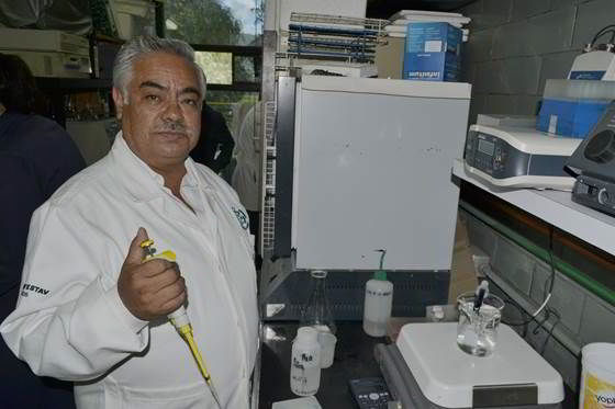 Graciano Calva Calva, investigador Bioingeniería