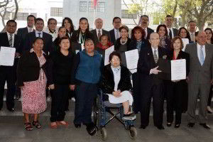 Ganadores del premio nacional de acción voluntaria y solidaria 2013