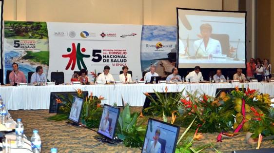 Quinta Reunión Ordinaria del Consejo Nacional de Salud