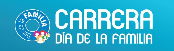 Logotipo Carrera del Dia de la familia