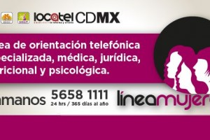 Número de teléfono 5658 1111 25 horas, 365 días al año