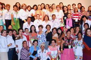 Encuentro Nacional de Mujeres Rurales, ciudad de Morelia, Michoacán