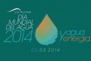 Logotipo del Día Mundial del Agua de 2014, agua y energía