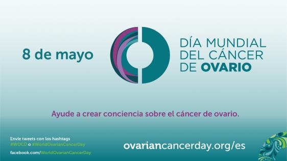 Logotipo del Día Mundial del Cáncer de ovario