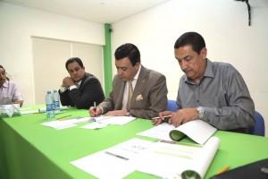 Secretarios de Salud de Colima y de Guanajuato