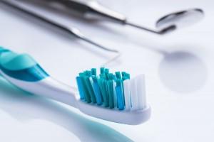 Cepillo de dientes y equipo dental