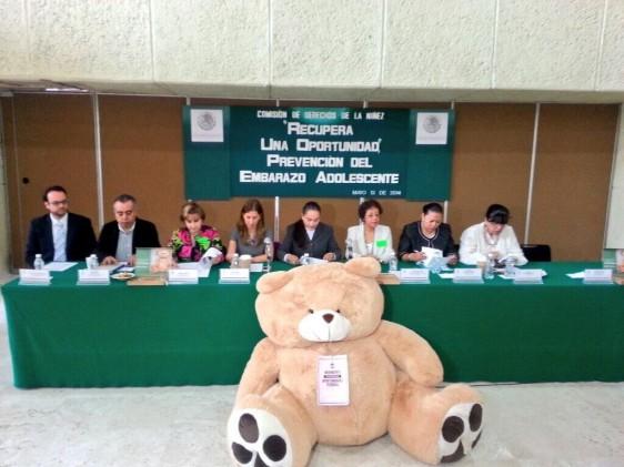 Evento, realizado en el Palacio Legislativo de San Lázaro