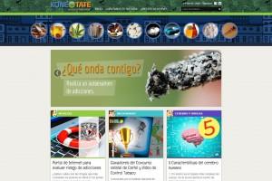 Captura de la pantalla del portal konectate.org.mx