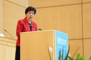 Directora General de la Organización Mundial de la Salud (OMS), Margaret Chan