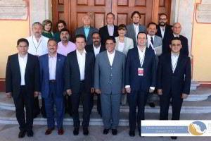 Secretarios de Salud de los estados de Durango, Chihuahua, Baja California, Coahuila, Nuevo León, Zacatecas, San Luis Potosí y Tamaulipas.