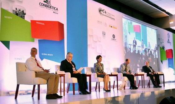 Angus Dawson, Manuel Ruis de Chavez, Dra. Mercedes Juan, Soren Holm, Guillermo Soberon.