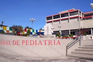Exterior del Instituto Nacional de Pediatría