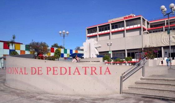 Exterior del Instituto Nacional de Pediatría