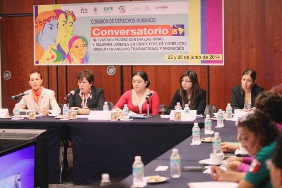 Propone Conapred banco nacional de datos sobre violencia contra las mujeres y participación de entidades federativas