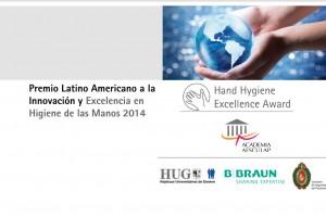 Ilustración del Premio Latinoamericano a la Innovación y Excelencia en Higiene de las Manos 2014