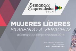Logotipo del Encuentro de Mujeres Líderes Moviendo a Veracruz