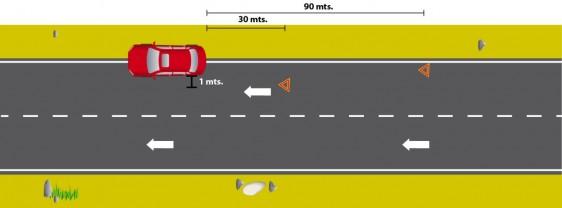 Ilustración de una carretera