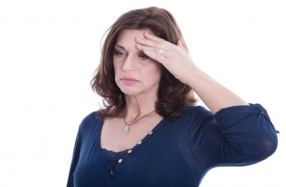 Mujer en etapa de menopausia