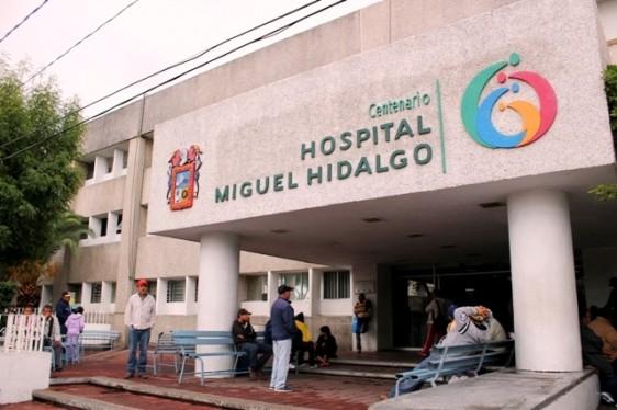 Entrada al Centenario Hospital Miguel  Hidalgo