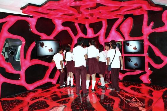 Espacio interactivo del Museo
