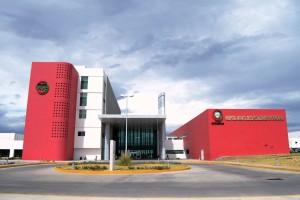 Fachada del Hospital Infantil de Especialidades de Chihuahua