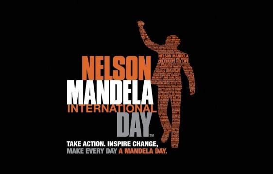 Ilustración del día internacional de Nelson Mandela
