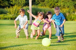 Las niñas corren tan bien como los niños, y no hay diferencia. Los estigmas vienen en la pubertad.
