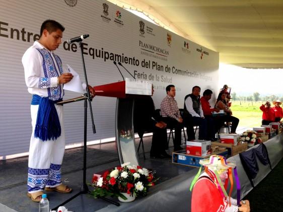 Tiene como objetivo fortalecer a más de 132 mil personas de los pueblos Purépecha, Otomí, Mazahua y Náhuatl bajo un esquema de equidad y respeto a sus usos y costumbres