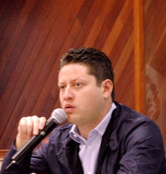 Secretario de Salud del Estado de México, César Nomar Gómez Monge