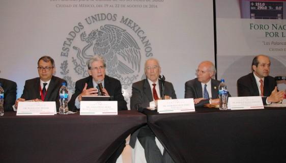 Dr. Wolfgang Munar. Dr. Julio Mora., Dr. Leobardo Ruiz Perez, Dr. Enrique Ruelas Barajas