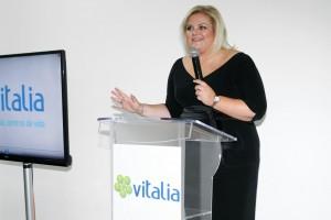 Catalina Hoffmann, presidenta y fundadora del grupo español Vitalia