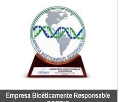 "Distintivo de ""Empresa Bioéticamente Responsable"""