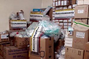 Cajas con sellos de aseguramiento