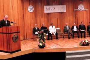Mucio Moreno Portillo; Alejandro Reyes Fuentes, Santiago Alberto Vertiz Flores, y Antonio Fraga Mouret