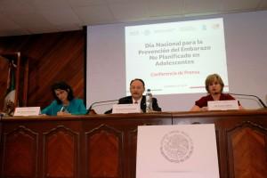 Maureen Birmingham, Ricardo Juan García Cavazos y Leonor Calderón