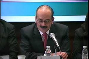 Comparecencia ante diputados de la Comisión de Seguridad Social del director general del ISSSTE
