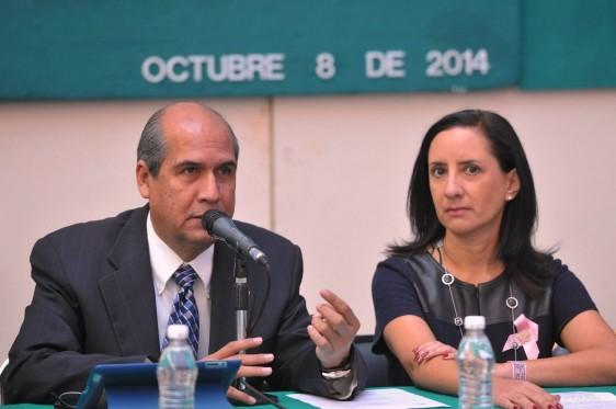 Mario Alberto Dávila Delgado y Bertha Aguilar