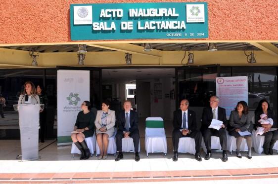 La lactancia materna, uno de los temas prioritarios en la agenda nacional: Sandra Herrera Moro, presidenta del Voluntariado Nacional de Salud.